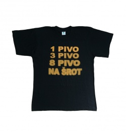 e9c31c60ba5 Pánská trička s potiskem - Ptákoviny