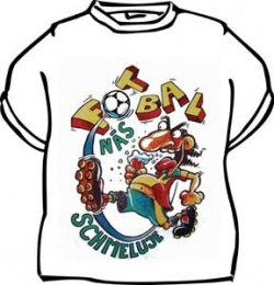 Tričko s vtipným potiskem FOTBAL NÁS SCHMELUJE 4f2592ad93